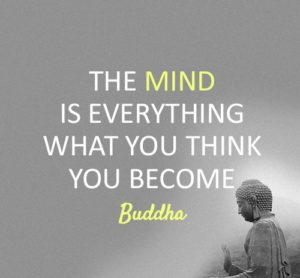 Buddha Quote You are what You Think