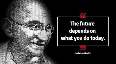 A Quote From Gandhi