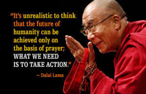 Dalai Lama Prayer Quotes