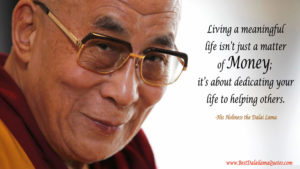 Dalai Lama Quotes about Money