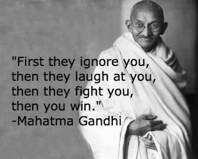 Famous Sayings Of Mahatma Gandhi