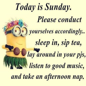 Funny Sunday Sayings