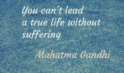 Gandhi Quotes on Suffering