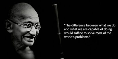 Inspiring Words Of Gandhi