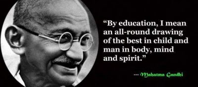 Mahatma Gandhi Learning Quotes