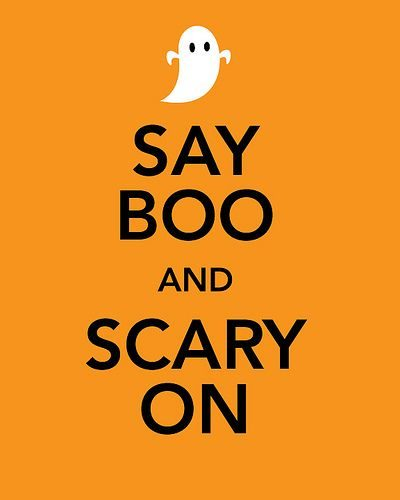 Say Boo And Scary Is On