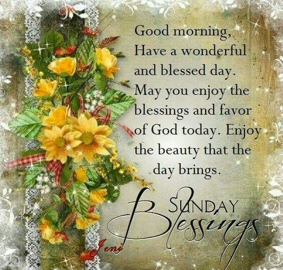 Sunday Blessings Quotes Beauteous Sunday Blessings Quotes Images The Random Vibez