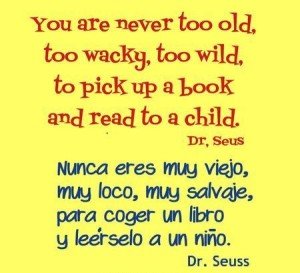 dr seuss quotes in English-Spanish Images
