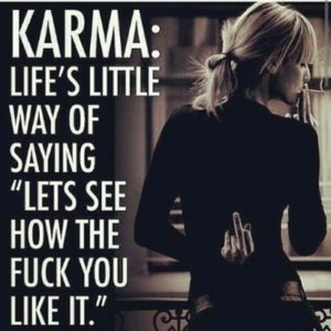 Bad Karma Quotes Images