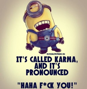Karma Picture Quotes