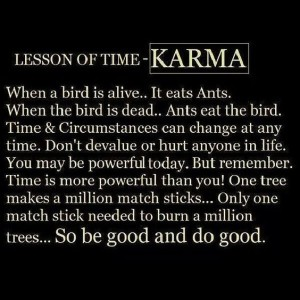 Bad Karma Quotes Gorgeous Goodbadfunny Karma Quotes And Sayings