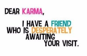 Karma Quotes for an ex