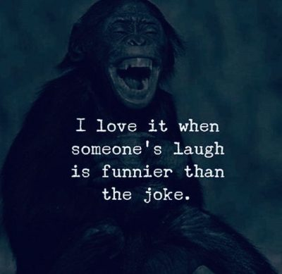Laughter Is Funnier
