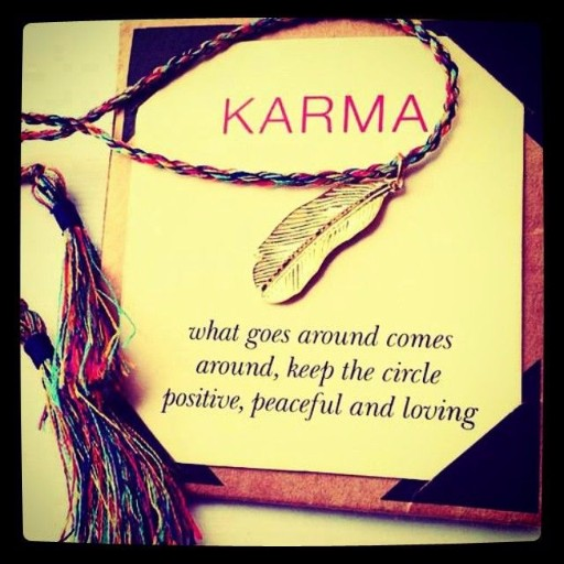 Philisophy Karma Quotes Positive Instagram