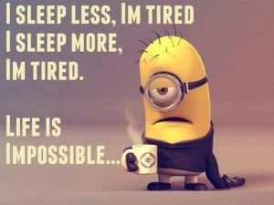 sleep-quotes-of-minions with pictures