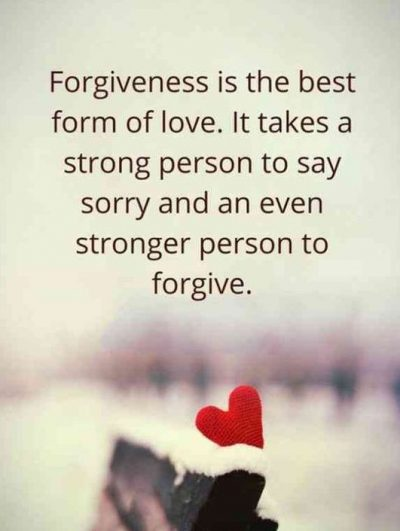 Forgiveness Makes You Stronger