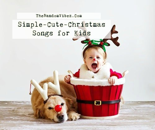 Simple-Cute-Christmas Songs for Kids Images