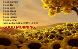 Awesome Good Morning Wishes Messages Images