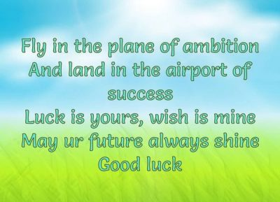 Best Wishes For Bright Future