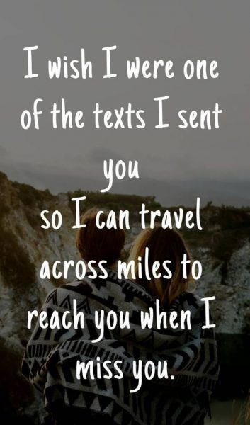 Deep Things To Say For Long Distance Relationship