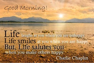 Famous Charlie Chaplin Good Morning Quotes Wallpaper Images