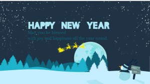 Free cute Happy new year cards online images