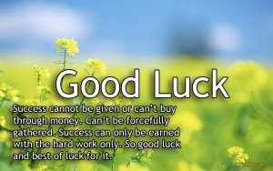 Good Luck Quotes & Sayings Images Wallpapers