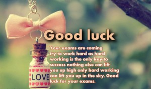 Good Luck Quotes Wishes for Exams Images