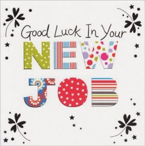 Awesome Good Luck Wishes for New Job Pictures and Images