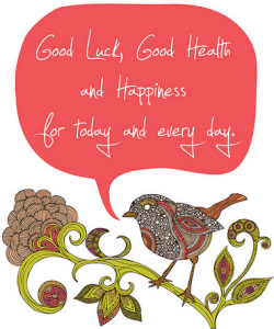 Good Luck and Good Health Quotes Images Wallpapers