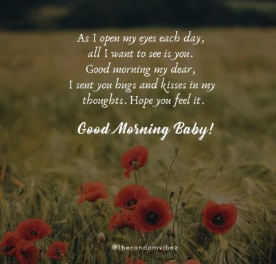 Good Morning Baby Quotes