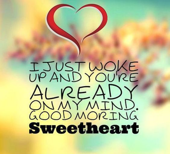 To girlfriend morning how to good say Flirty Good