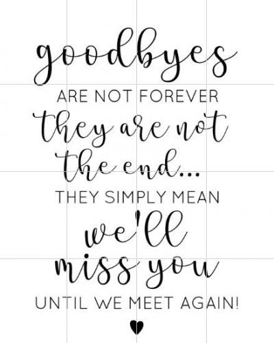 Goodbye Quotes For Best Friends