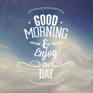 Positive Happy Good Morning Quotes Images