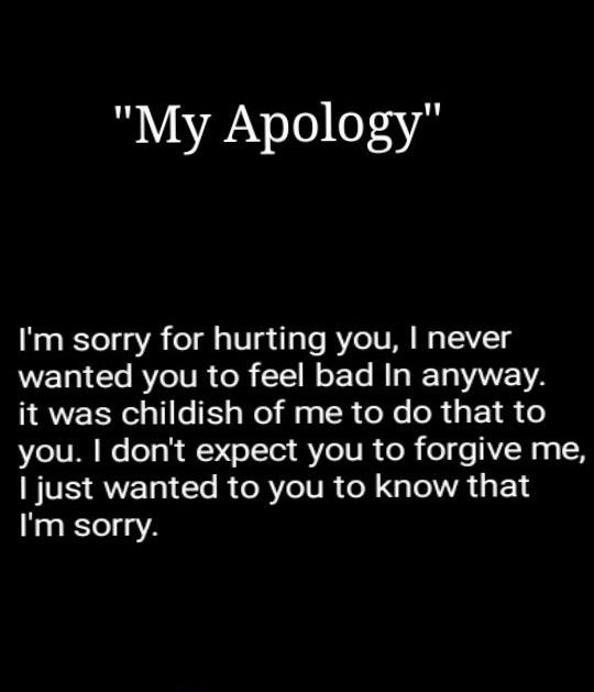 Cheating quotes for sorry 15 Surviving