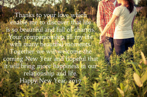 Love New Year Quotes Messages Images 2017