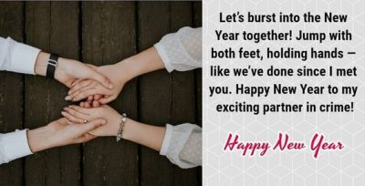 New Year Greetings For Lovers