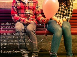 Romantic new year wishes for whatsapp Images