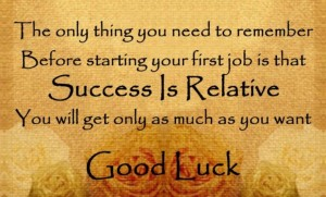 Success and Good Luck Quotes Images