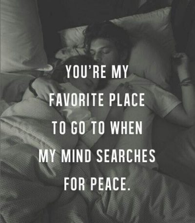 Sweet Things To Say While He is Sleeping