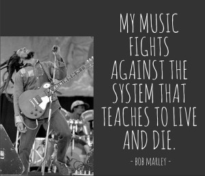 Best Bob Marley Music Quotes Images