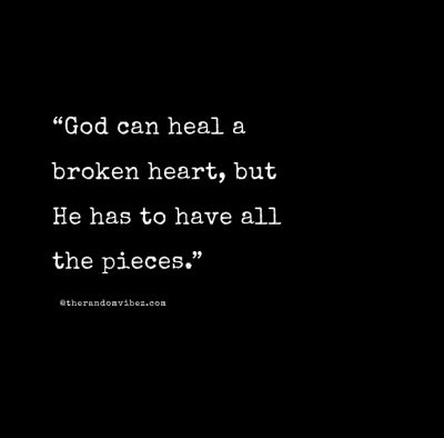 Broken Heart Healing Quotes Pictures
