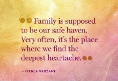 Family Heartbreak Quotes
