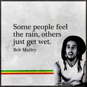 Feel The Rain Quotes by Bob Marley Images Pic