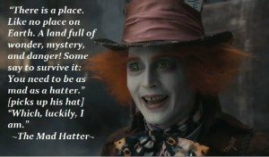 Johnny Depp Madhatter movie QUotes images hd