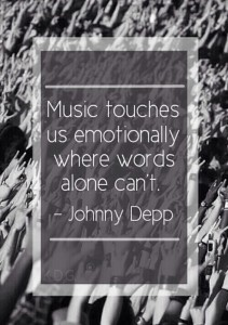Best Johnny Depp Quotes about Music Images