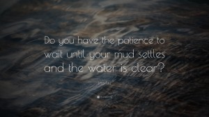 LAz tzu quotes on patience images