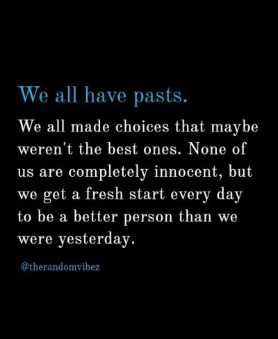 Leave the Past Quotes