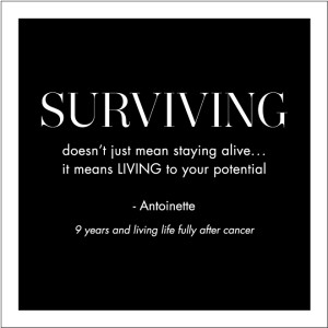 Living with cancer quotes images