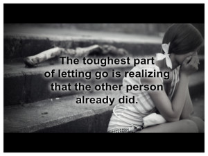 Quotes about Letting go for Her Images